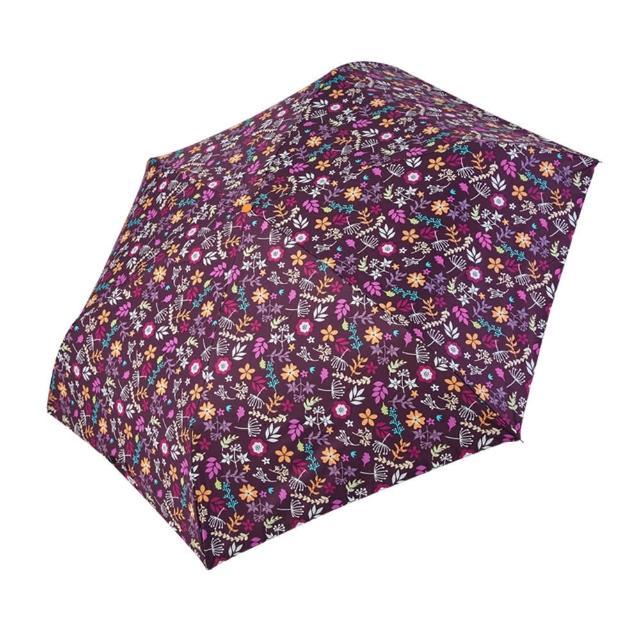 【rainstory】-8°降溫凍齡手開輕細口紅傘-紫戀花卉(遮光色膠系列)
