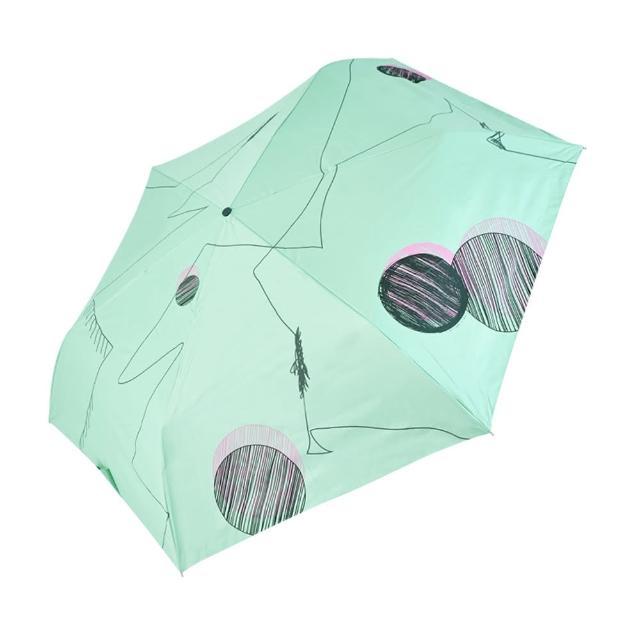 【rainstory】-8°降溫凍齡手開輕細口紅傘-夢幻線條(遮光色膠系列)