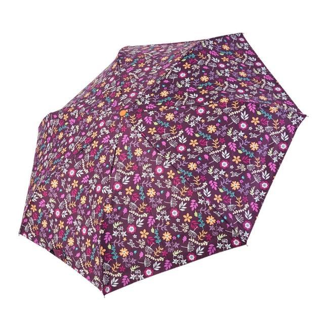 【rainstory】-8°降溫凍齡個人自動傘-紫戀花卉(遮光色膠系列)