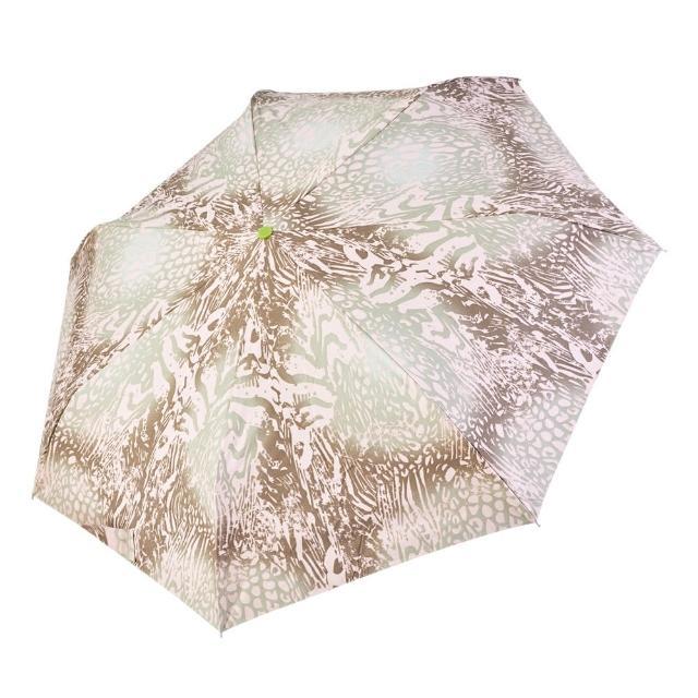 【rainstory】-8°降溫凍齡個人自動傘-漸層豹紋(遮光色膠系列)