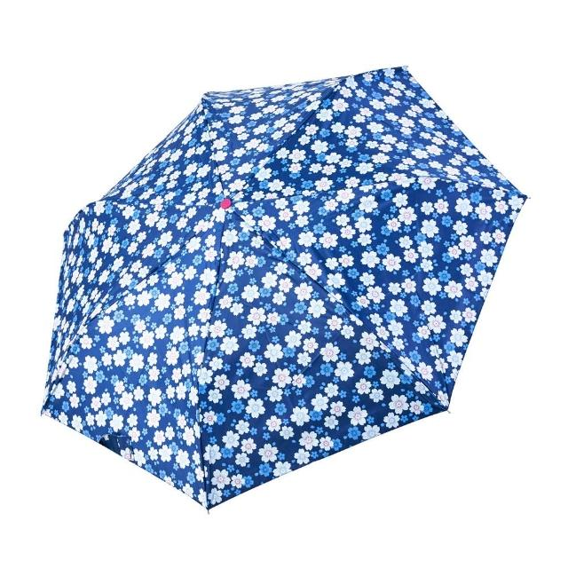【rainstory】-8°降溫凍齡個人加大自動傘-花漾時光(遮光色膠系列)