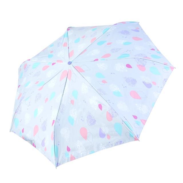 【rainstory】-8°降溫凍齡個人加大自動傘-天使的眼淚(遮光色膠系列)