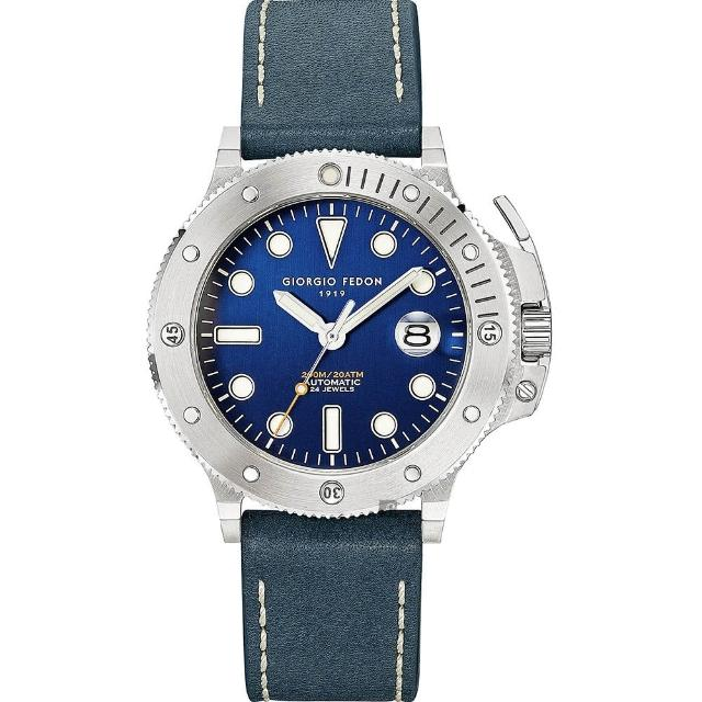 【GIORGIO FEDON 1919】海藍寶石系列第二代 AQUA MARINE II 機械錶(GFCR006)
