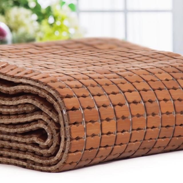 【Carolan】孟宗竹 加大碳化麻將涼蓆(6尺)