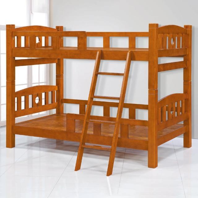 【AS】歐尼斯實木雙層床-114x202x170cm