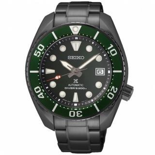 【SEIKO 精工】PROSPEXE 台灣限定款綠水鬼200米潛水機械錶(6R35-01A0G/SPB195J1)