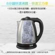 【大家源】1.8L 304全不鏽鋼快煮壺/電水壺(TCY-2608)