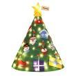 【Conalife】立體燈串羊毛氈聖誕樹 1組(加贈聖誕髮飾X1-款式隨機)