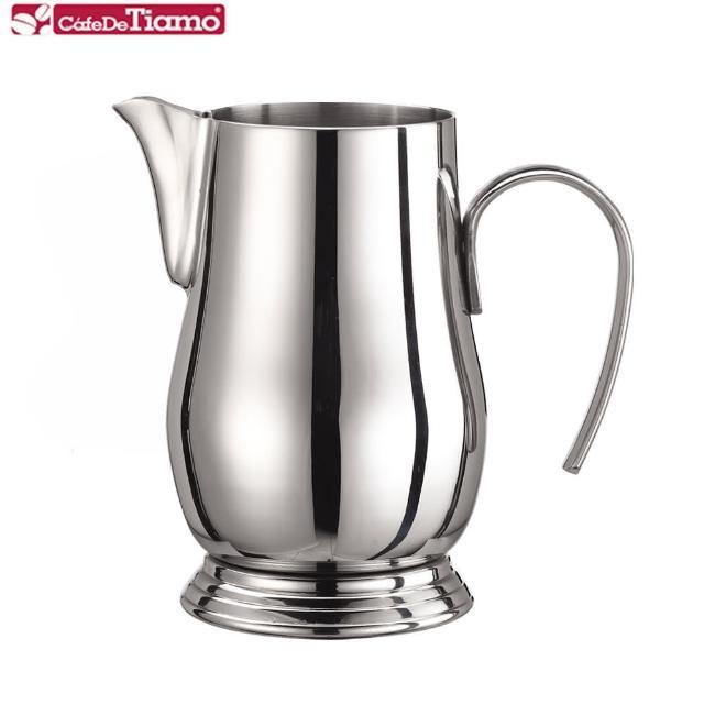 【Tiamo】304不銹鋼 宮廷拉花杯 900ml(HC7044)