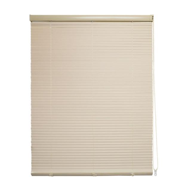 PVC百葉窗簾-S型 120X190CM-米黃