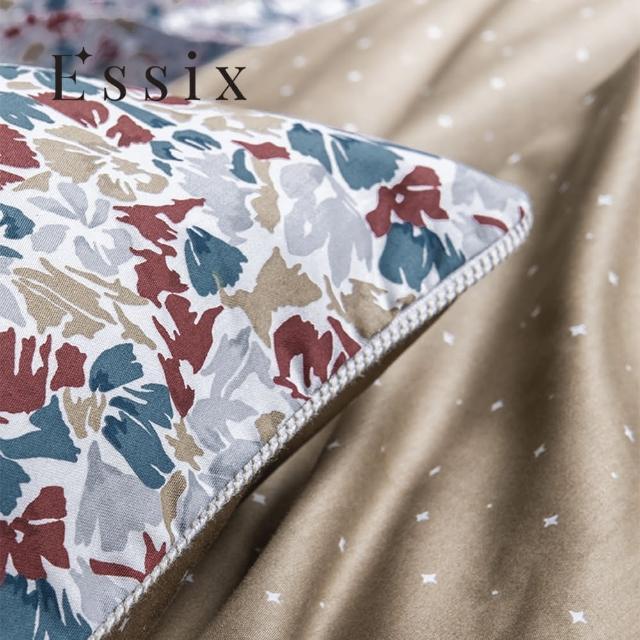 【ESSIX】100%長織綿印花枕套-幻想印花(1入)