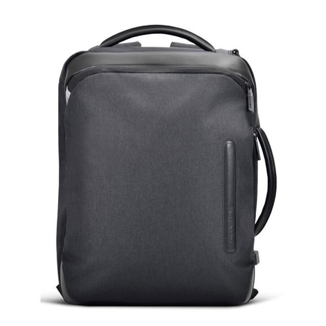 【FX CREATIONS★雙11限定】WED-14吋回彈減壓電腦背包-WED69874A-01(黑)