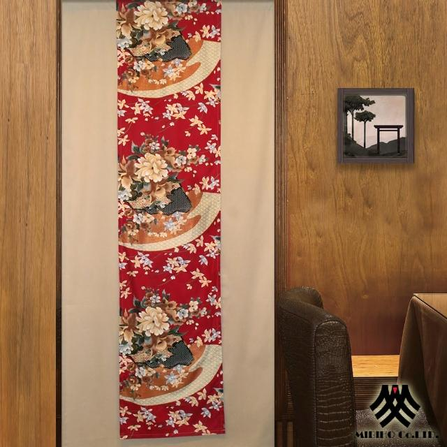【M.B.H】-花之雅緻 雙層式開運風水簾