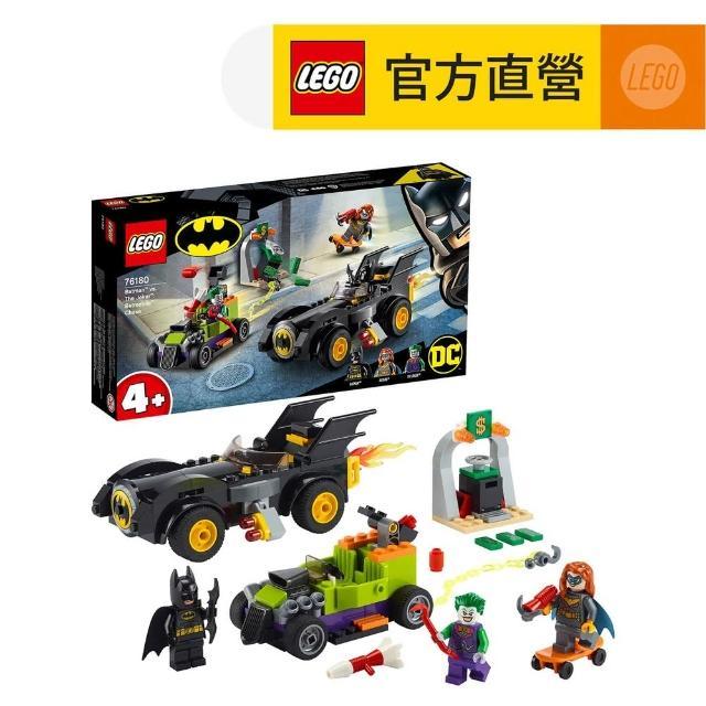 【LEGO 樂高】DC超級英雄系列 Batman vs. The Joker: Batmobile Chase 76180 蝙蝠俠 小丑(76180)