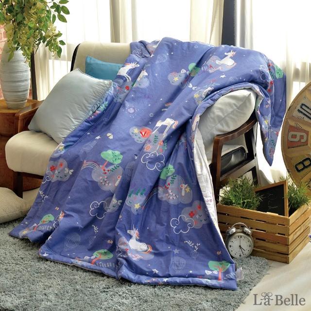 【La Belle】星空獨角獸100%精梳純棉抗菌涼被
