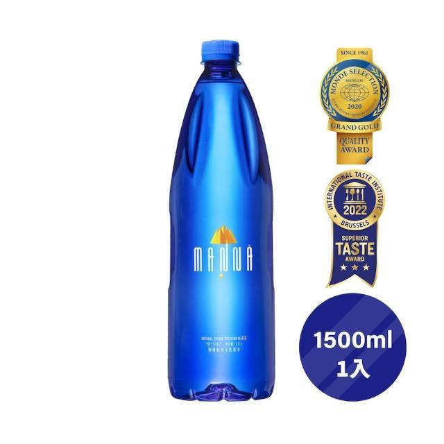 【MANNA 瑪哪】天然蘇打礦泉水1500ml*1入(進口無氣礦泉水)