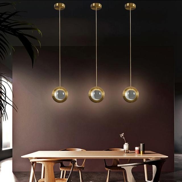 【obis】水晶球吊燈(贈測試光源)