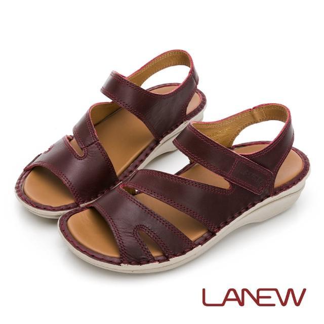【La new】飛彈輕量手縫涼鞋(女54270602)