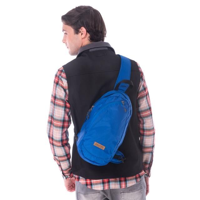 【Hilltop 山頂鳥】中性款9公升休閒旅遊背包(T28X05藍)