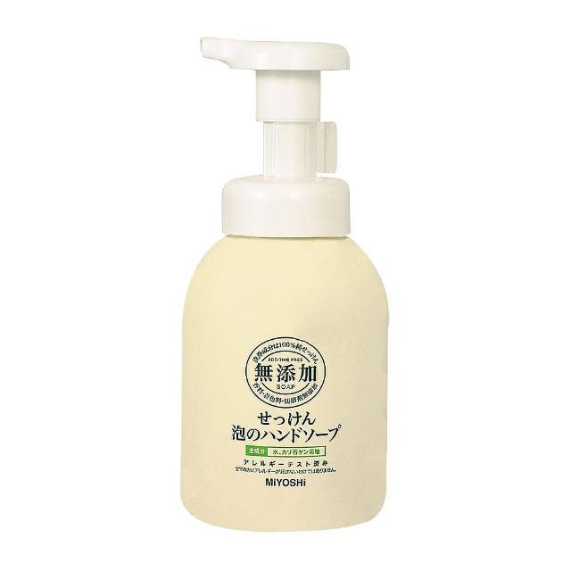 【日本 MIYOSHI】玉之肌 無添加泡沫洗手乳 350ml