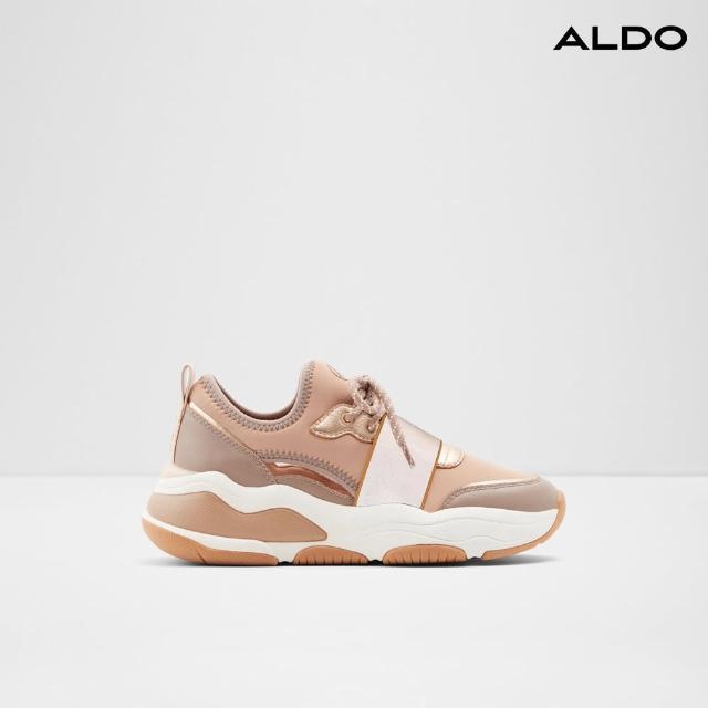 【ALDO】高質感配色鏤空厚底鞋-女