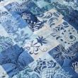 【岱妮蠶絲】精美數位印花絲棉緞蠶絲涼被0.7kg(花卉拼圖)