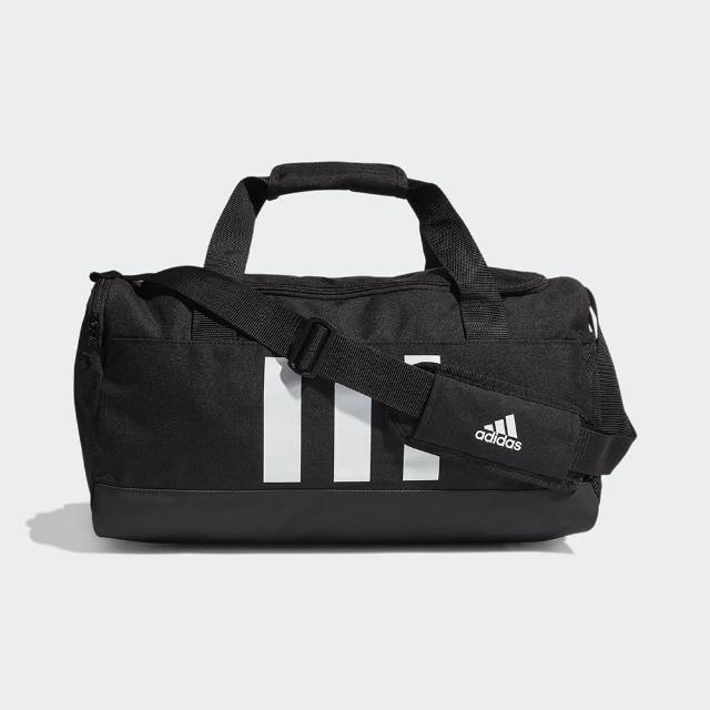 adidas 愛迪達【adidas 愛迪達】健身包 運動 健身 旅行 大容量 3-STRIPES 黑 GN2041