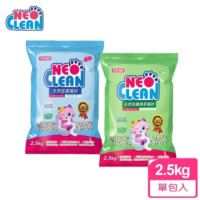 【NEO 天淨】天然豆腐貓砂6L-3入 原味/綠茶