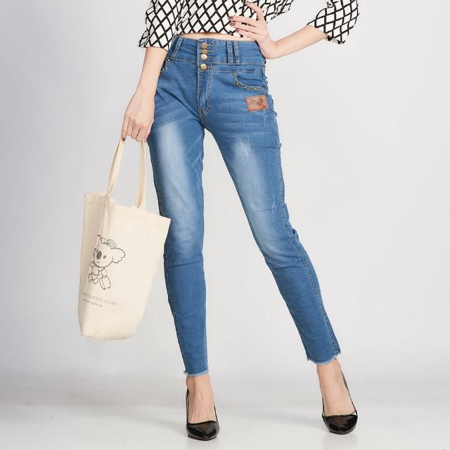 【ALVA】日本溫控高磅激瘦高彈單寧褲2+1(現貨熱銷中)
