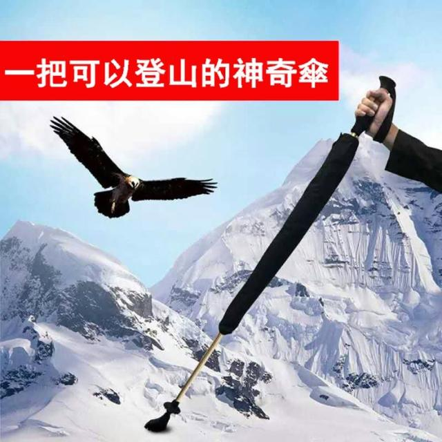 【WEIYI唯一】兩用式健走傘(健行 健走 爬山輔助 登山杖 健走杖)