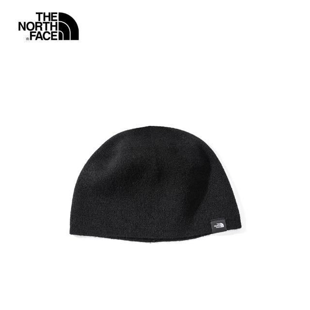 【The North Face】The North Face北面男女款黑色針織毛帽 4SIFJK3
