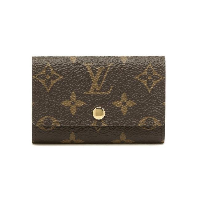 【Louis Vuitton 路易威登】LV M62630 Victorine系列 經典Monogram帆布印花 六扣鑰匙包