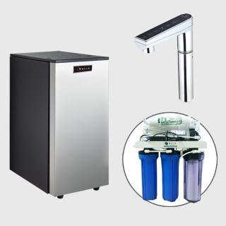 【德克生活】K900三溫冰冷熱觸控式廚下型飲水機(贈公規 RO 5道逆滲透)