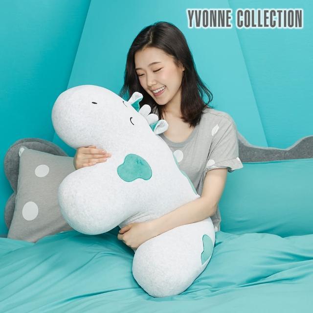【Yvonne Collection】乳牛造型大靠枕_78公分(皇家綠)