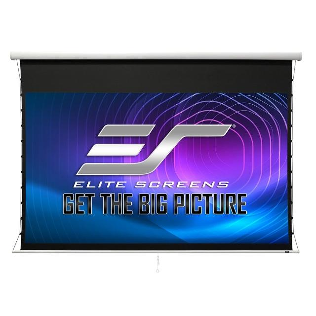 【Elite Screens】Elite Screens億立銀幕100吋16:9 高級款手拉張力幕 isf認證啞白MT100UWH-E15 黑色機殼