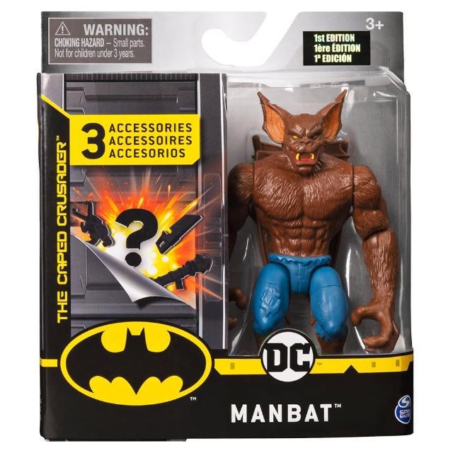 【BATMAN 蝙蝠俠】4吋可動人偶-人蝠(可動公仔)