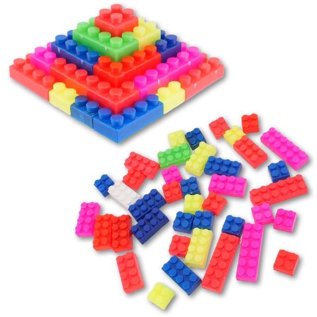 【TDL】彩色益智積木玩具46-00071