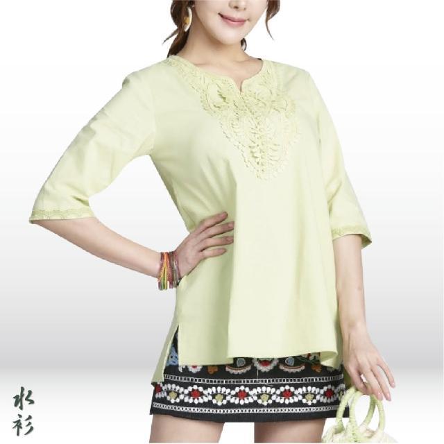 【水衫】簡約優雅七分袖上衣五件組(J03-11)