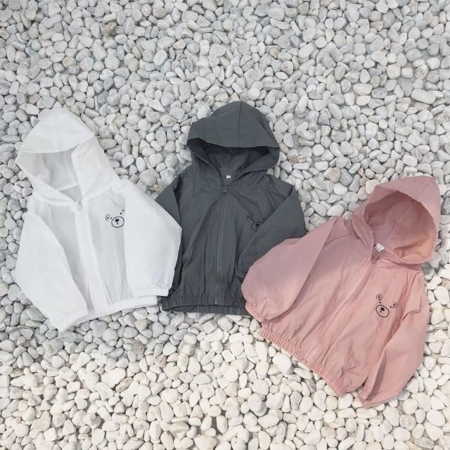 【Baby 童衣】兒童防曬外套 連帽小熊薄外套 88699(共3色)