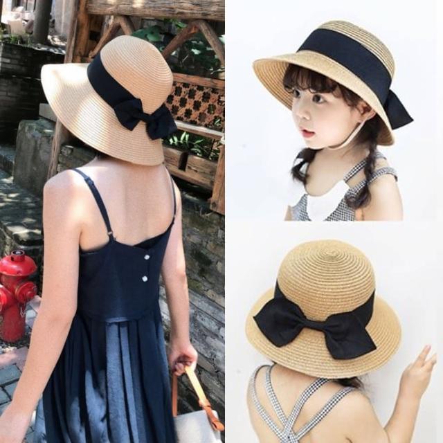 【HaNA 梨花】夏日親子同款.開心過暑假日式草帽盆帽