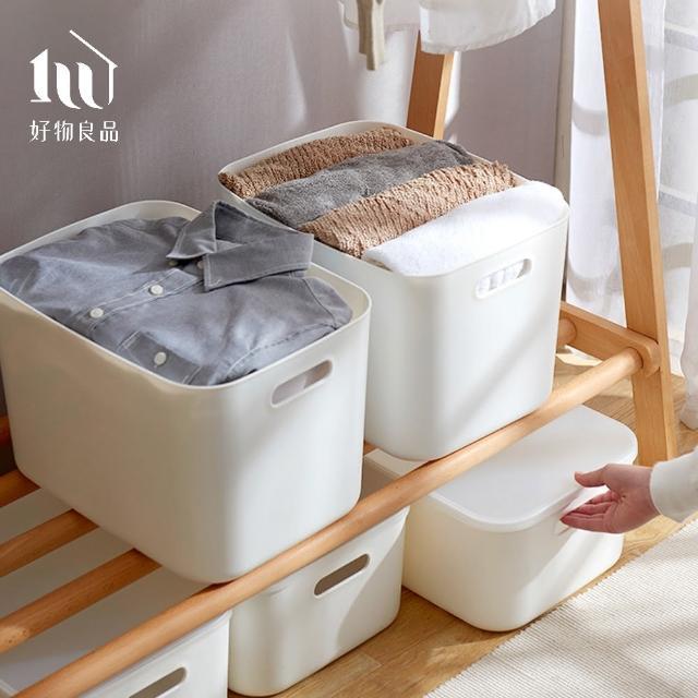 【好物良品】日式無印衣櫃/文具/雜物收納箱分類整理盒-大