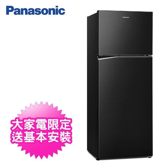 【Panasonic 國際牌】485公升一級能效雙門變頻冰箱(NR-B481TV-K晶漾黑)