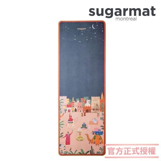 【加拿大Sugarmat】頂級加寬PU瑜珈墊 3.0mm(馬拉喀什 Marrakesh)