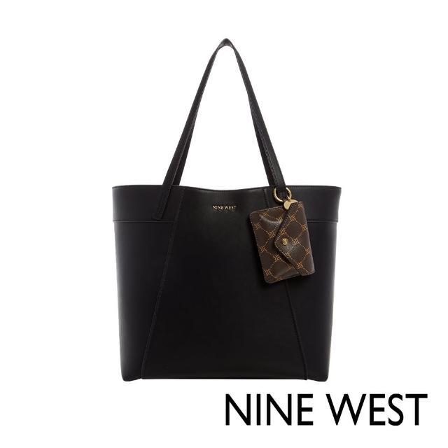 【NINE WEST】SUNNYSIDE大容量肩背托特包-黑色(118623)