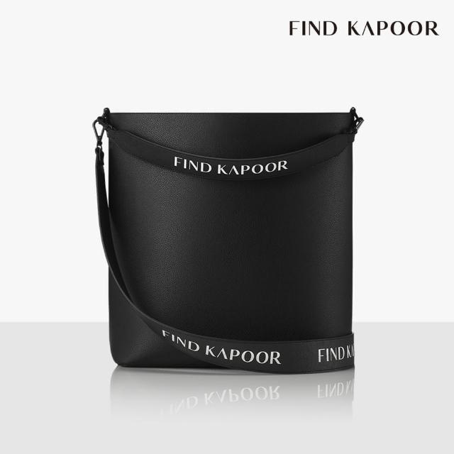【FIND KAPOOR】LEKOO H 28 字母系列 大尺寸手提斜背水桶包- 黑色