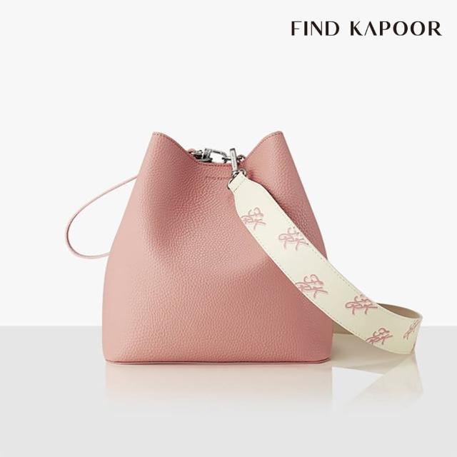 【FIND KAPOOR】PINGO 23 BASIC 印花 系列 手提斜背水桶包- 粉色