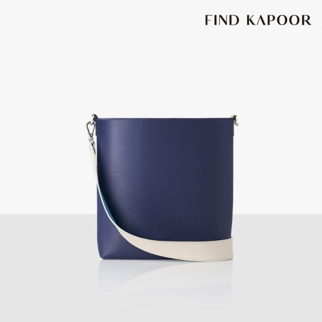 【FIND KAPOOR】LEKOO 24 BASIC系列 手提斜背水桶包- 海軍藍拼接