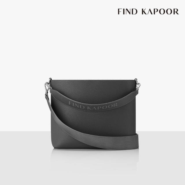 【FIND KAPOOR】LEKOO H 24 BASIC字母系列 手提斜背水桶包- 灰色