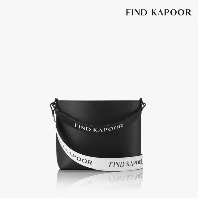 【FIND KAPOOR】LEKOO H 24 字母系列 手提斜背水桶包- 黑色