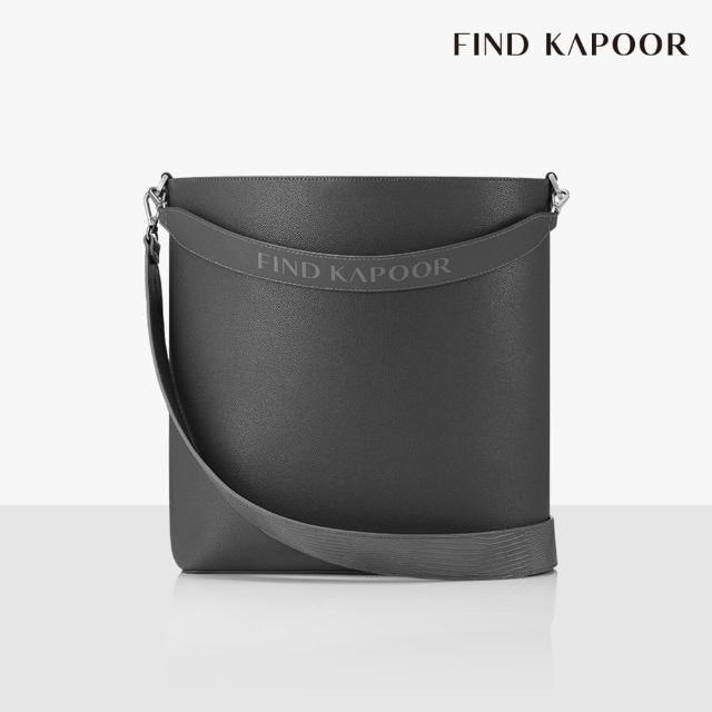 【FIND KAPOOR】LEKOO H 28 BASIC字母系列 大尺寸手提斜背水桶包- 灰色